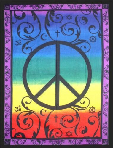 Global Peace Tapestry 208cm x 132cm 100% Cotton WAS $55 NOW $49