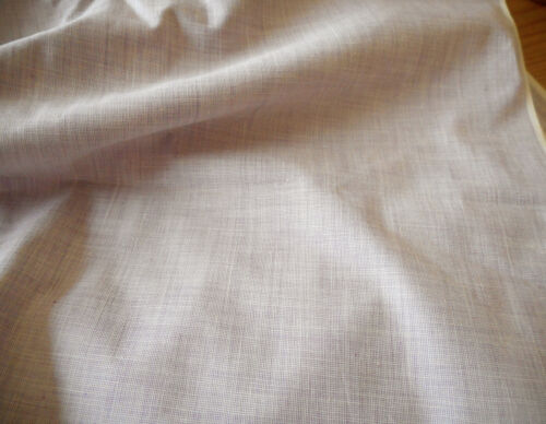 Antique Vintage Lavender Chambray Shirting Cotton Fabric ~ dolls quilts clothing
