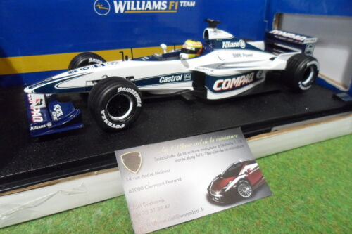 F1  WILLIAMS BMW FW22  SCHUMACHER 1/18 HOT WHEELS MATTEL 26735 formule 1 voiture