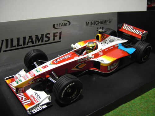 F1  WILLIAMS FW21 SCHUMACHER 1999 au 1/18 MINICHAMPS 180990006 voiture formule 1