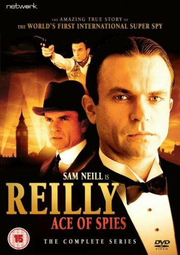 Reilly Ace of Spies Season 1 Series One First (Sam Neill) New Region 4 DVD