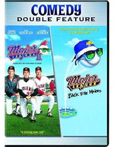 Major League II + Major League Back to the Minors Set 1 + 2 Charlie Sheen R1 DVD