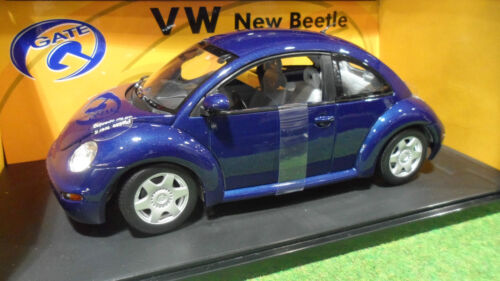 VOLKSWAGEN NEW BEETLE Bleu 1/18 GATE 01034 voiture miniature collecti coccinelle