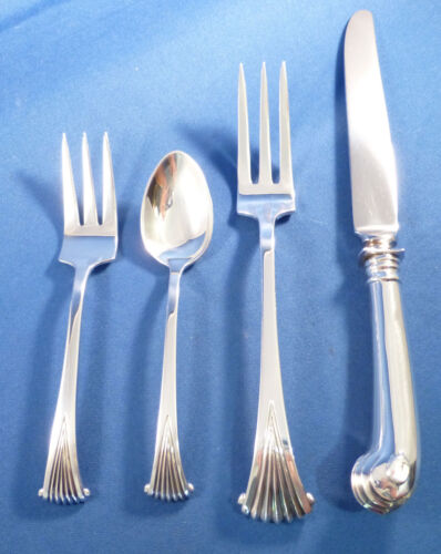ONSLOW-TUTTLE STERLING 4 PIECE TRUE DINNER SIZE PLACE SETTING(S)