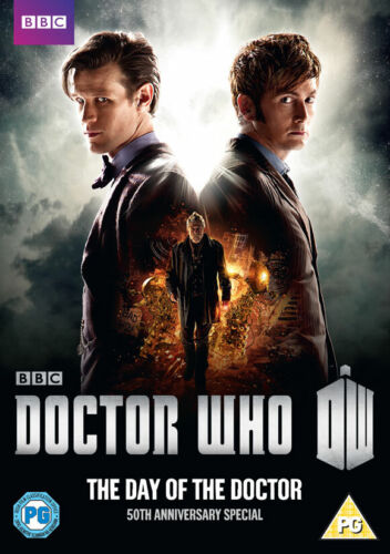 Doctor Who The Day of the Doctor (Matt Smith, Jenna-Louise Coleman) Region 4 DVD