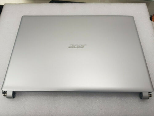 "Acer AspireV5 V5-471P Lcd Back Cover With Hinges 14"" Silver"
