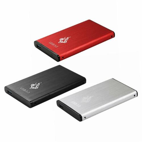 USB 3.0 2.5 inch External Hard Disk Drive Portable SATA III Desktop PC HDD #JT1