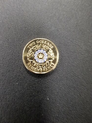 Australian UNCIRCULATED 2019 $2 National Police Remembrance Day Coin