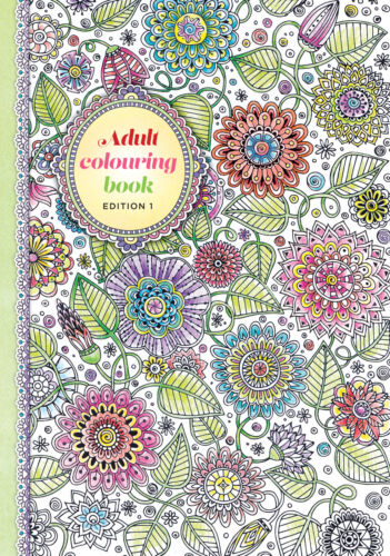 Adult Colouring Book - Version 1