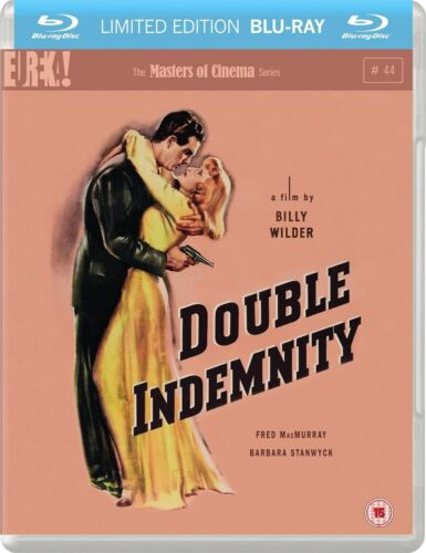 Double Indemnity The Masters of Cinema Series (Fred MacMurray) Region B Blu-ray