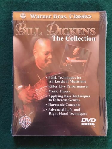BILL DICKENS The Collection  SEALED DVD Funk Techniques, Live Performances etc