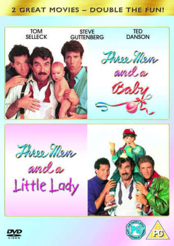 Three Men and a Baby + Three Men and a Little Lady Three & New Region 4 DVD