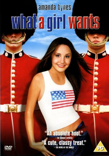 What a Girl Wants (Amanda Bynes, Kelly Preston, Colin Firth) New Region 2 DVD