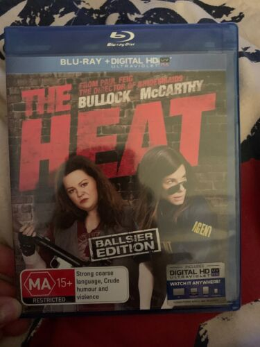 The Heat (Blu-Ray, 2013) New Rated MA15+ Comedy Movie 🍿 Bullock McCarthy Action