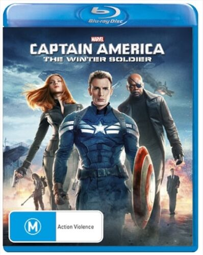 Captain America 2: THE WINTER SOLDIER : NEW Blu-Ray