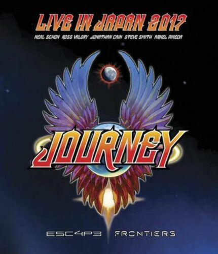 Journey - Live In Japan 2017 - Escape/Frontiers (RA/B/C) - Blu-Ray - Music