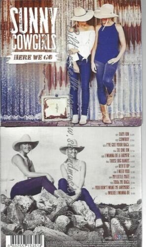 CD--SUNNY COWGIRLS--HERE WE GO