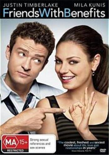 FRIENDS WITH BENEFITS : NEW DVD