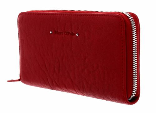Marc O'Polo Emilie Zip Wallet L Lipstick Red