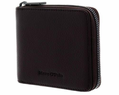 Marc O'Polo Fiete Zip Wallet S Chocolate Brown