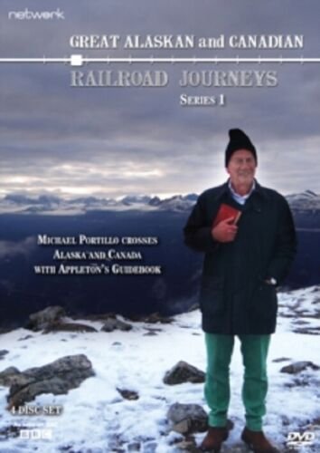Great Canadian and Alaskan Railroad Journeys Series 1 Series One & Region 2 DVD