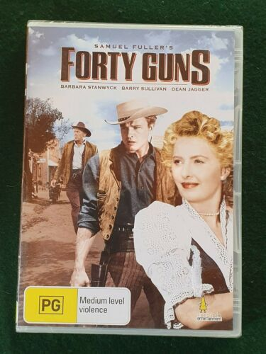 FORTY GUNS - Barbara Stanwyck, Barry Sullivan - Sealed New -   DVD