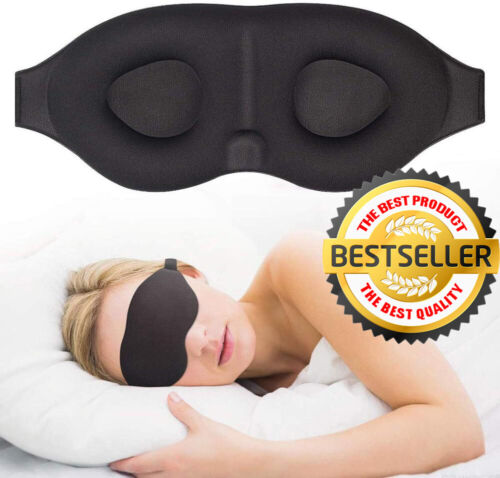 Sleep Mask For Men And Women Eye Mask For Sleeping Blindfold Travel Accessories <br/> ✅TOP RATED US SELLER ✅IN STOCK ✅WE SHIP WITHIN 24 HOURS