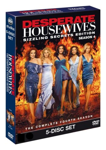 Desperate Housewives Season 4 Series Four Fourth New Region 4 DVD Box Set