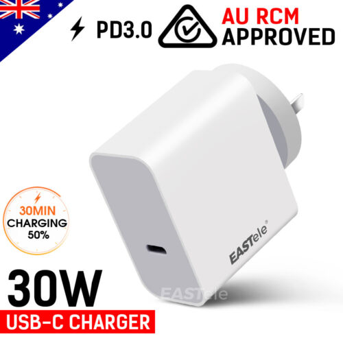 USB-C Type-C Fast Charging AC Wall Charger For Apple iPhone 12 mini Pro Max
