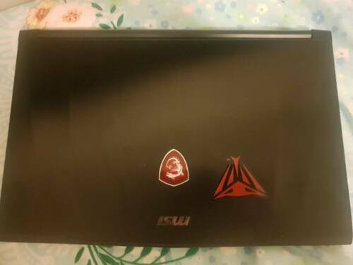 MSI gaming Laptop with VIPER gaming mouse