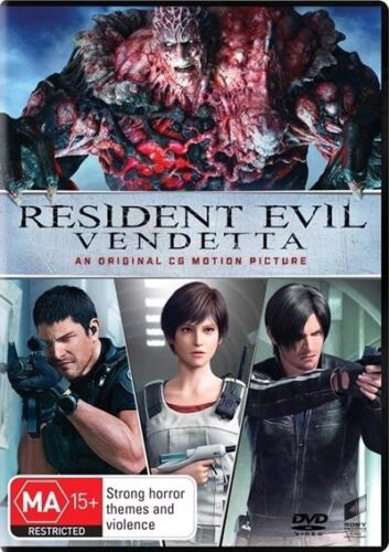 Resident Evil - VENDETTA : NEW DVD