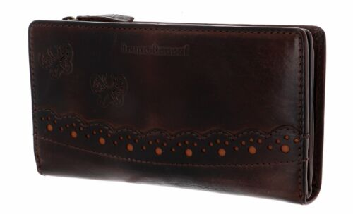bruno banani Portafoglio con Zip Around Wallet Ziloo Brown