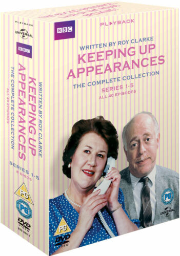 Keeping Up Appearances Season 1 2 3 4 5 Complete Series Collection New DVD