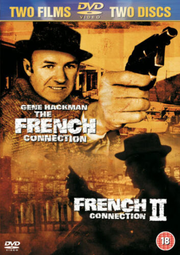 The French Connection 1 + French Connection II 2 (Gene Hackman)  Region 4 DVD
