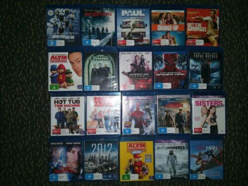 CLEARANCE 20x Bluray Movies CLEARANCE ***EXCELLENT CONDITION***