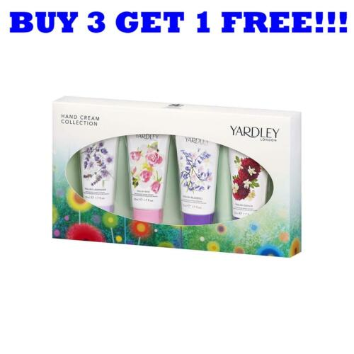 Yardley Handcreme Collection Vier Pack 4x50ml