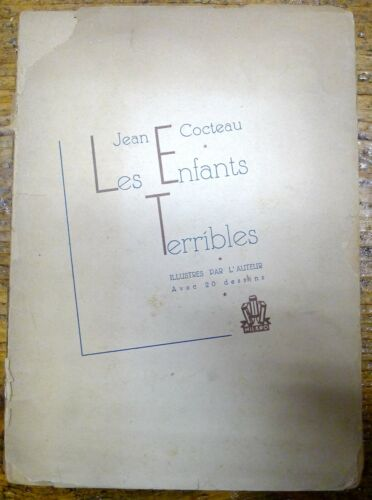 LES ENFANTS TERRIBLES / JEAN COCTEAU / NUMERATO / ILLUSTRATO