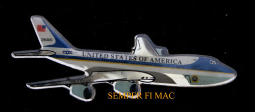 DAYTONA 500 FLY BY US AIR FORCE ONE VC-25 LAPEL HAT PIN UP PRESIDENT TRUMP 747Air Force - 66528