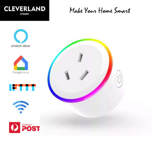 Wifi Plug Smart home Socket Switch Outlet Adaptor App remote Alexa Google home