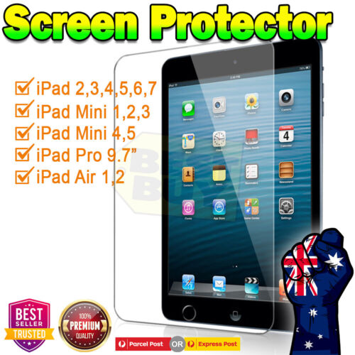 Ultra Clear /Matte Screen Protector Film For Apple iPad 5th 6th 7th Gen Air 1 2