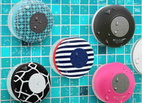 Aduro AquaSound 2020 Bluetooth Wireless Shower Speaker Waterproof IPX Resistant