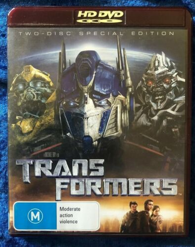 HD DVD Transformers 2 Disc Special Edition