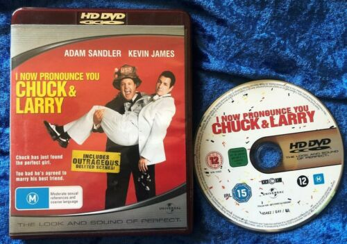 HD DVD I Now Pronounce You Chuck And Larry