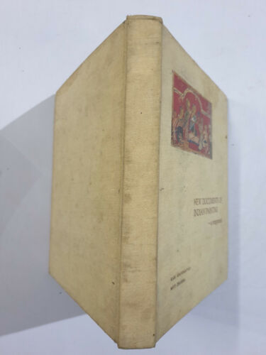 Khandalavala, Karl: New Documents Of Indian Painting.1969. 162p. tipped in illus