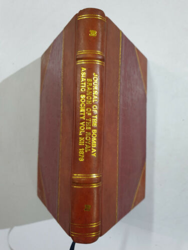 Journal Bombay Branch Of The Royal Asiatic Society. No. Xxxiv. 1876 Jews