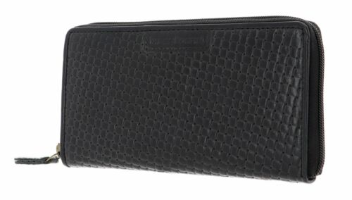 bruno banani Zip Around Wallet Wichita con Zip Around Wallet Black