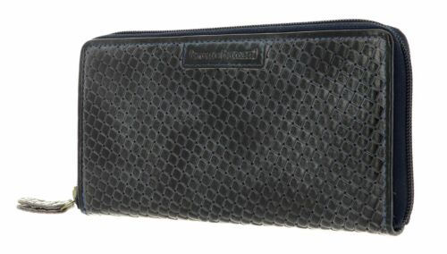 bruno banani Zip Around Wallet Wichita con Zip Around Wallet Blue