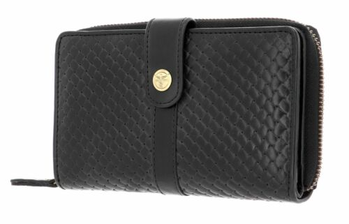 Wallet with Flap CHIEMSEE Antwerp Wallet with Flap M Black