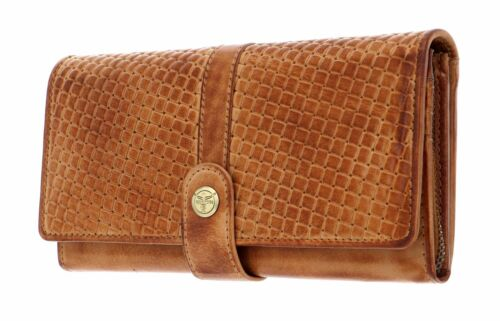 Wallet with Flap CHIEMSEE Antwerp Wallet with Flap L Cognac
