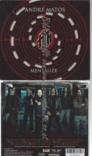 CD--ANDRE MATOS--    MENTALIZE